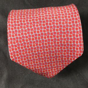 Brooks brothers square link tie